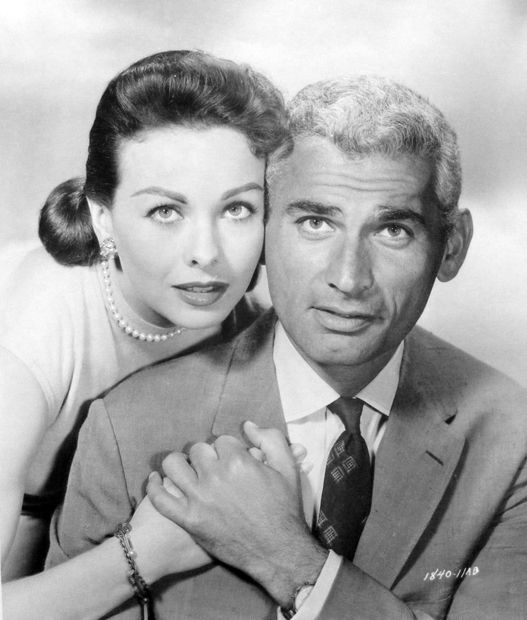 The Tattered Dress (1957) Jeanne Crain and Jeff Chandler
