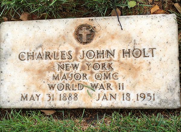 Charles Holt Headstone