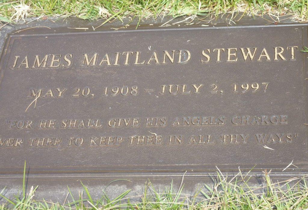 James Stewart Headstone