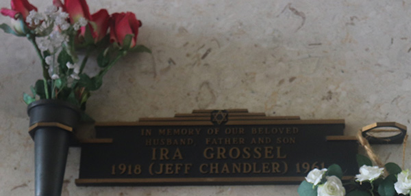 Jeff Chandler Headstone