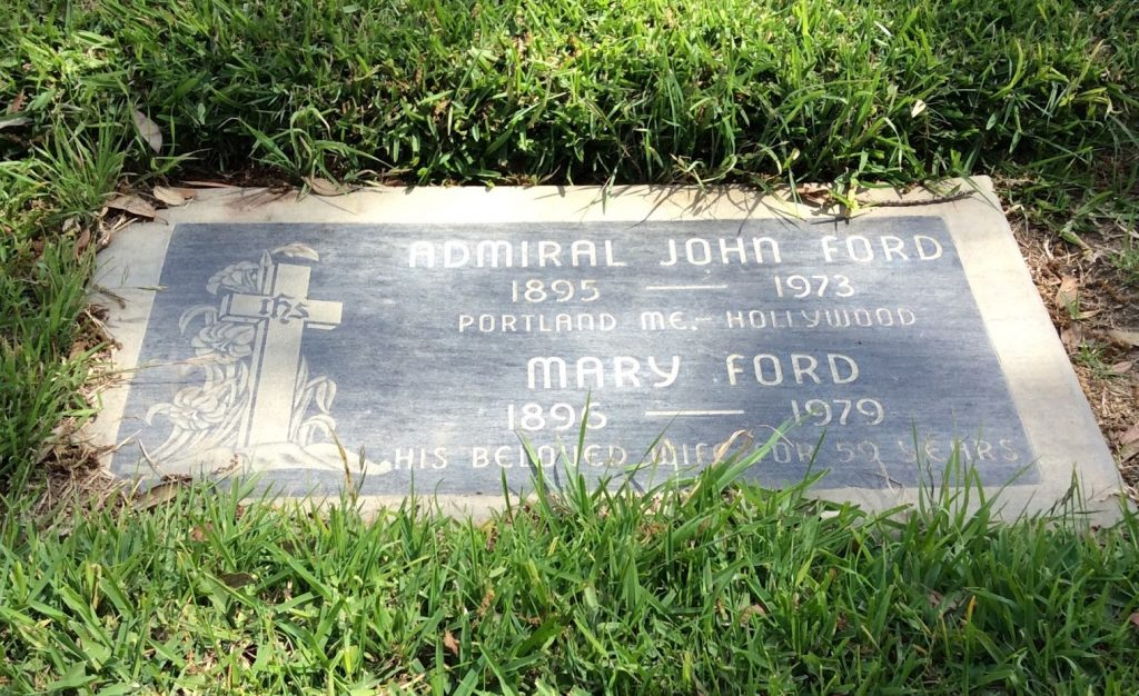 John Ford Headstone