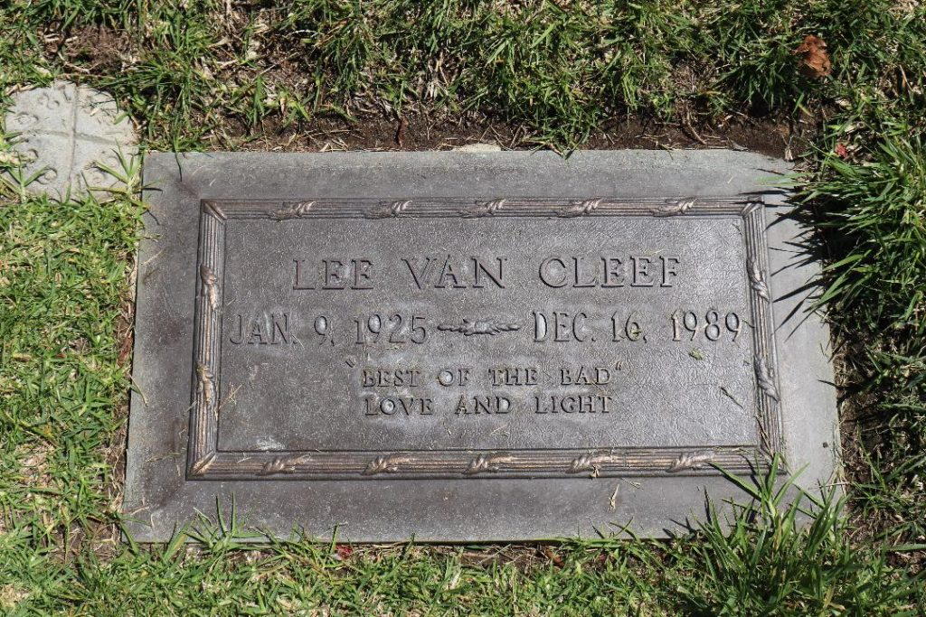 Lee Van Cleef Headstone