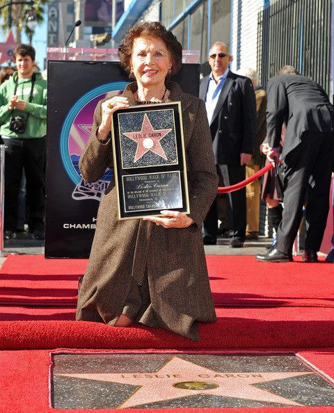 Leslie Caron Hollywood Walk of Fame, Star
