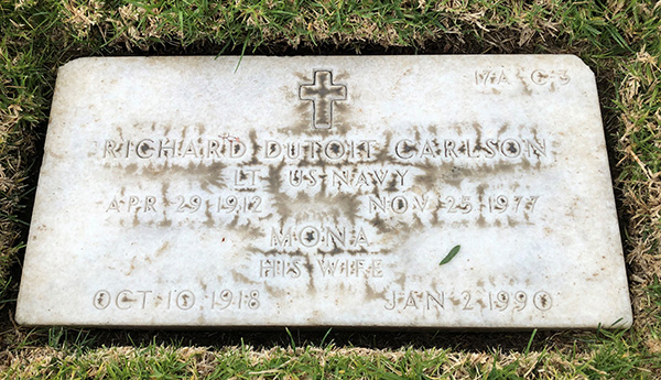 Richard Carlson Headstone