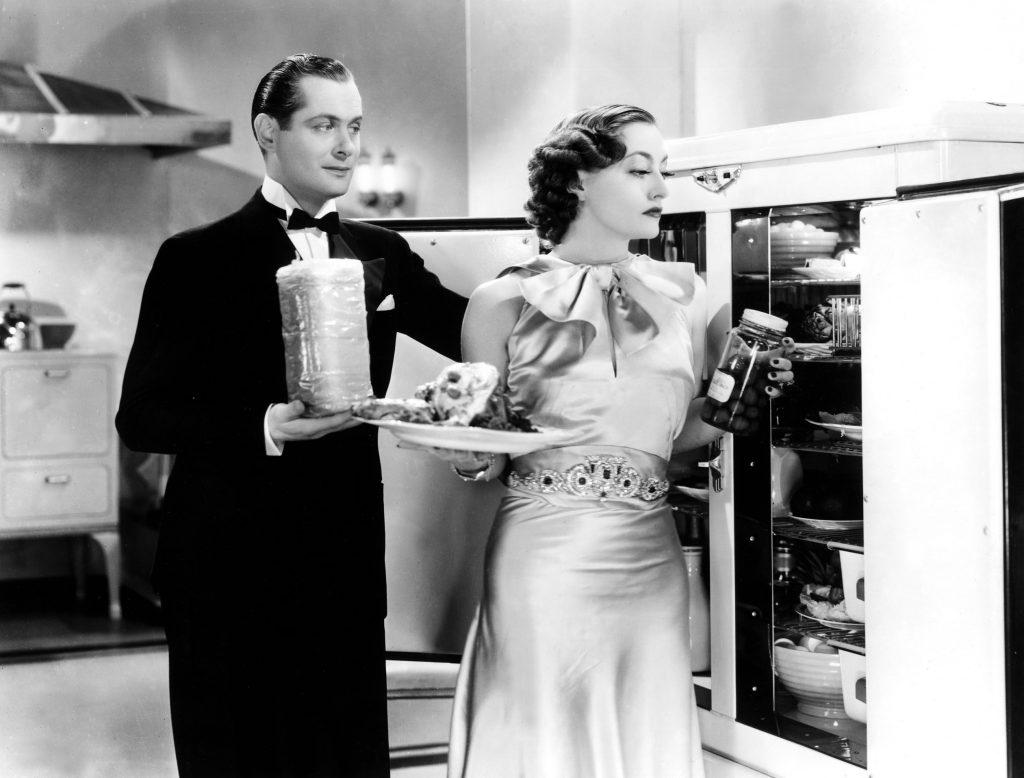Robert Montgomery and Joan Crawford in No More Ladies (1935)