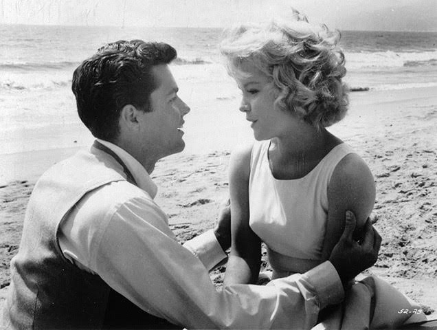 Richard Beymer and Tuesday Weld  in Bachelor Flat (1962).