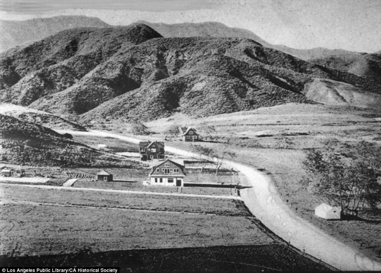 A Very early glimpse of Hollywood, California
