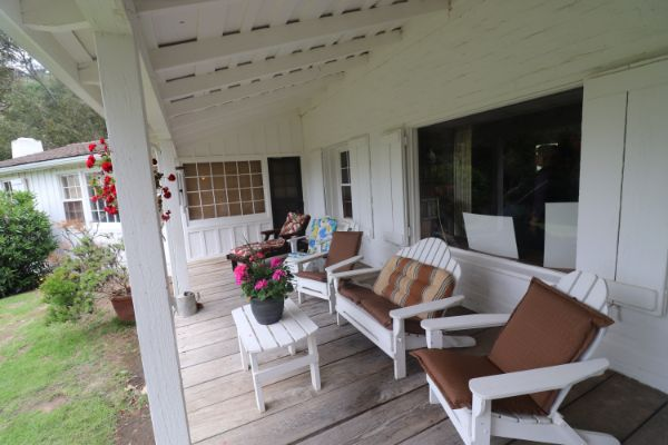 Joel McCrea Ranch Porch