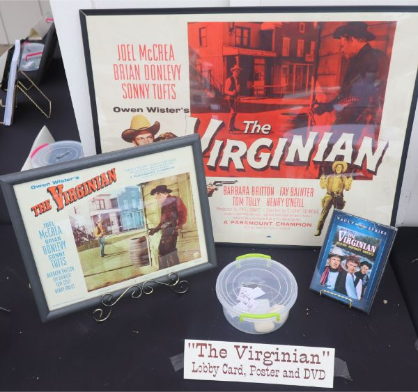 McCrea Ranch Raffle including an original The Virginian Poster