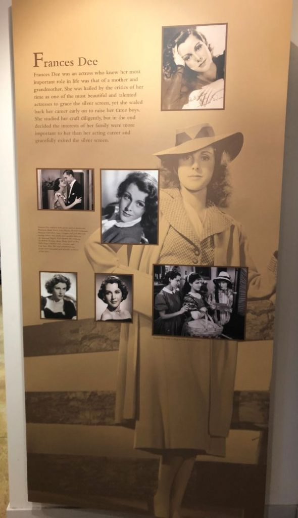 Joel McCrea Ranch Frances Dee Exhibit