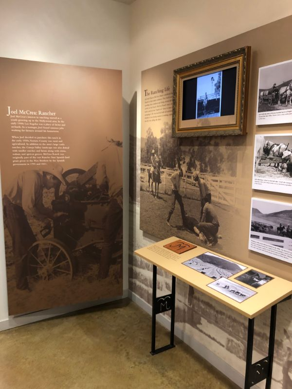 Joel McCrea Ranch Ranching Life Exhibit