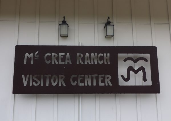 Joel McCrea Ranch Visitor Center Sign