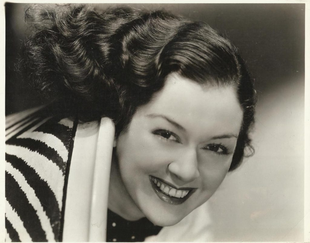 A young Rosalind Russell