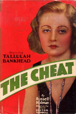 The Cheat (1931) Movie Poster Tallulah Bankhead