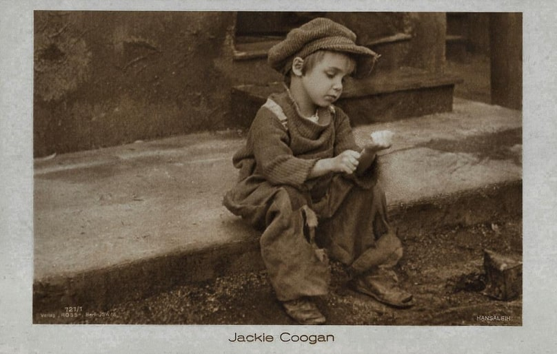 Child Actor, Jackie Coogan in The Kid (1921)
