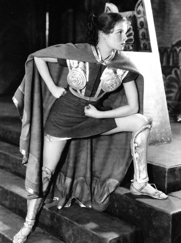 Katharine Hepburn in The Warrior's Husband (1932)