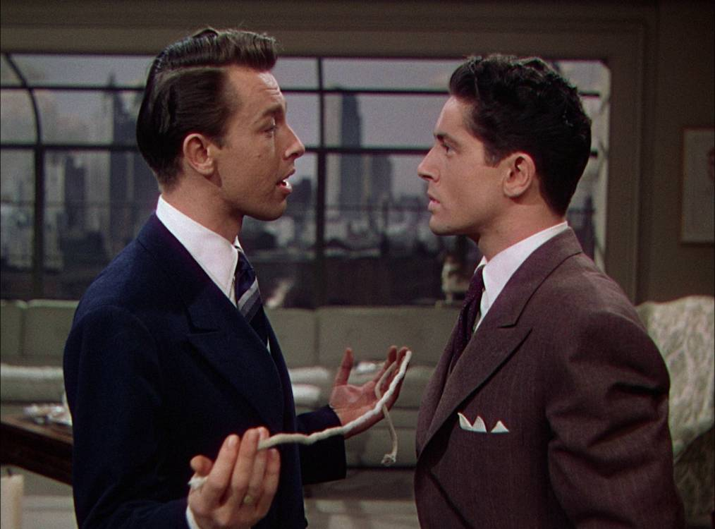 Rope (1948) Farley Granger and John Dall