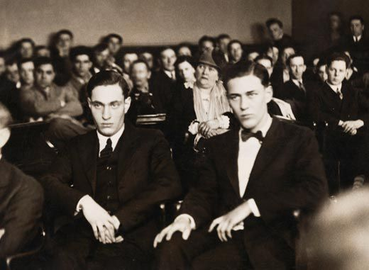 Nathan Leopold and Richard Loeb, Rope (1948)