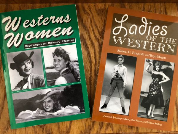 Westerns Women and Ladies of the Western by Michael G. Fitzgerald and Boyd Magers