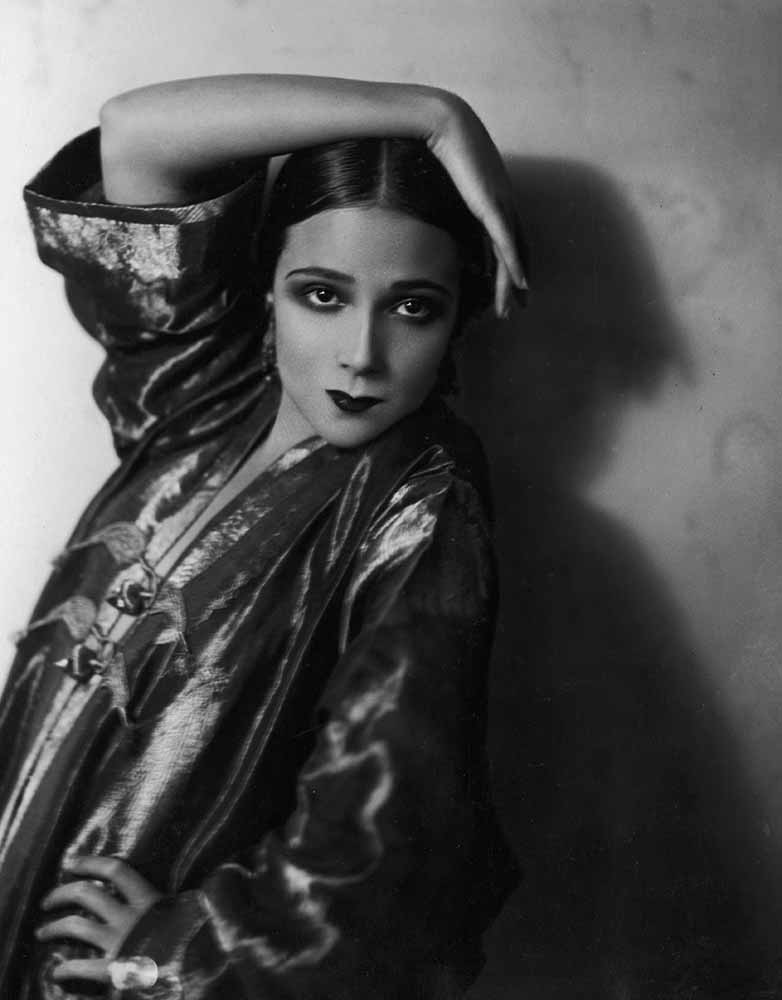 Dolores del Río during her early days in cinema