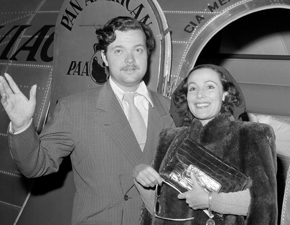 Dolores del Río shown here alongside Orson Welles in 1941