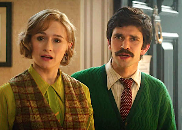 Emily Mortimer and Ben Wishaw as the grown-up Jane and Michael Banks Mary Poppins