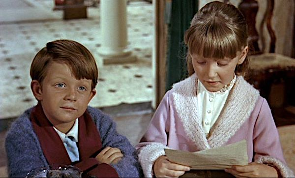 Jane and Michael Banks in Mary Poppins (1964)