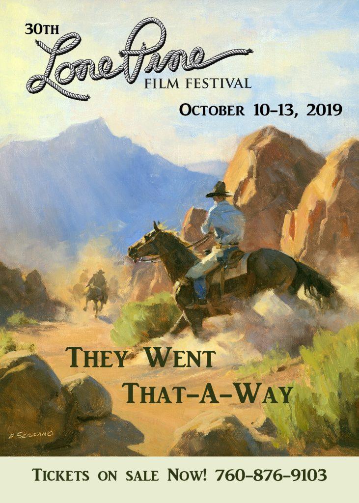 Lone Pine Film Festival 2019 Poster