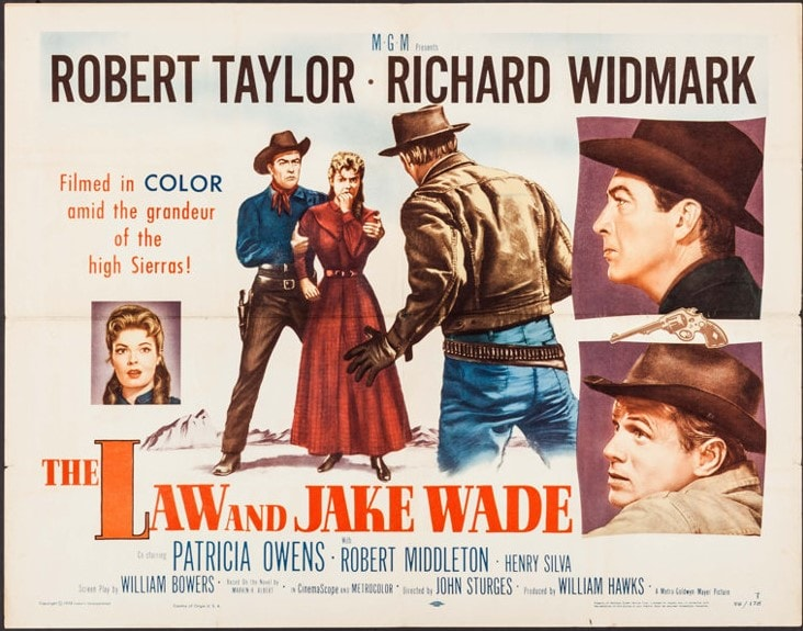 The Law and Jake Wade (1958) Robert Taylor and Richard Widmark