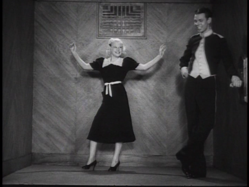 June Allyson and Hal LeRoy in Ups and Downs (1937)