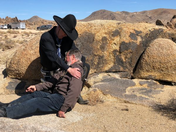 Lone Pine Festival Hop-a-long Cassidy (1935) Gabby Hayes Death Scene