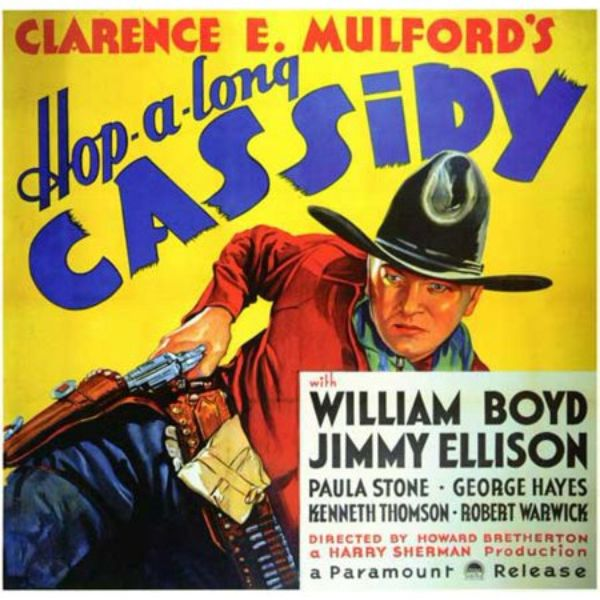 Lone Pine Festival Hop-a-long Cassidy (1935) William Boyd