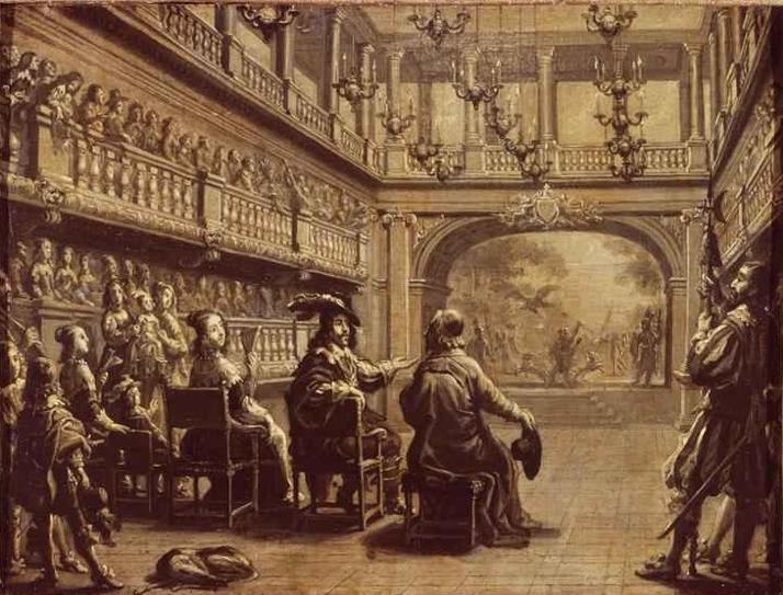 17th Century stage lighting