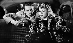 Richard Conte and Shelley Winters in Cry of the City (1948)
