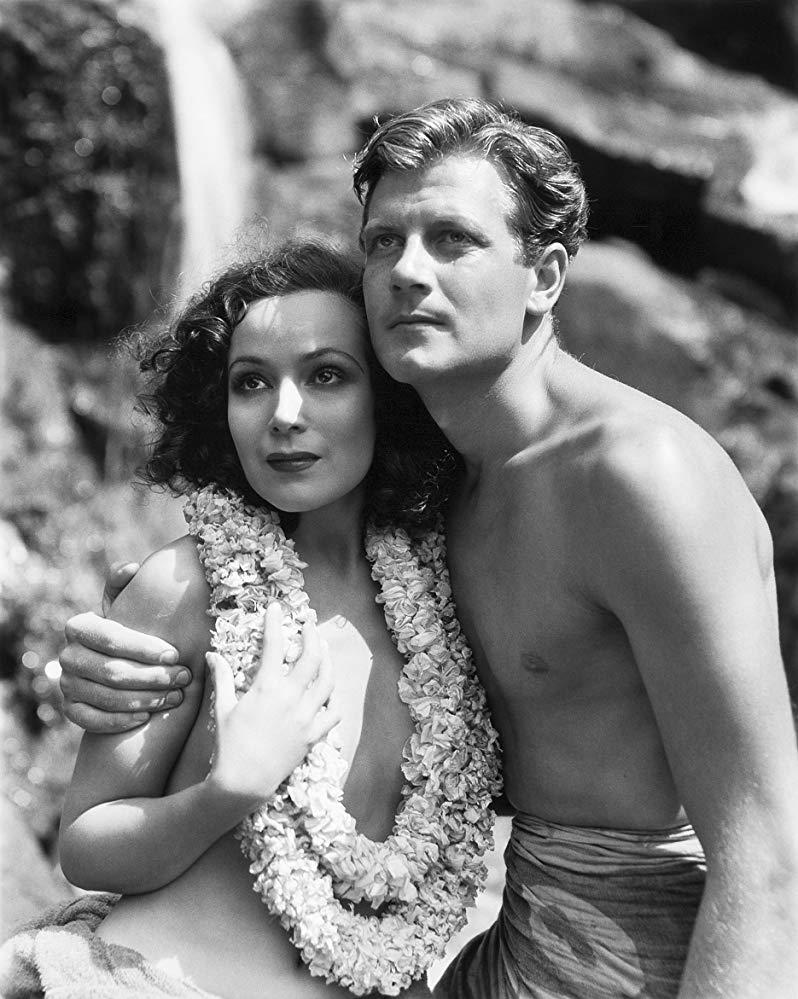 Joel McCrea opposite Dolores del Rio in Bird of Paradise (1932)