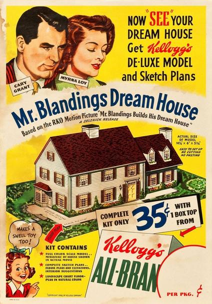 Mr. Blandings Builds His Dream House (1948) Kellogg's Model