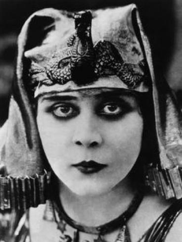 Theda Bara Makeup