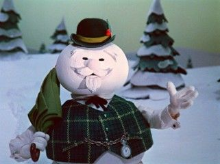 Burl Ives was the voice of Sam the Snowman in the 1964 holiday movie, Rudolph the Red-Nosed Reindeer