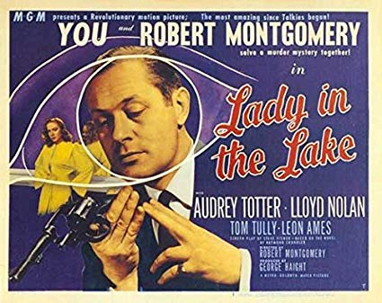 Lady in the Lake (1947) Movie Poster