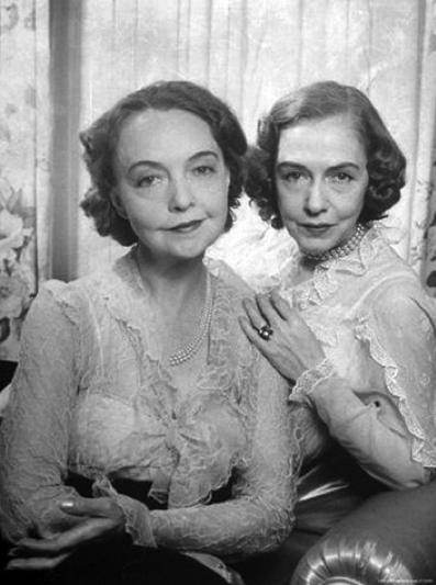 Lillian and Dorothy Gish Sisters