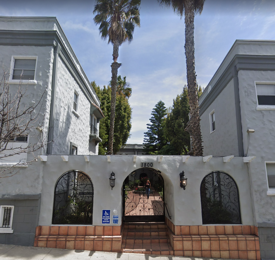 Nell O'Day residence 1800 El Cerrito Pl in Los Angeles, California