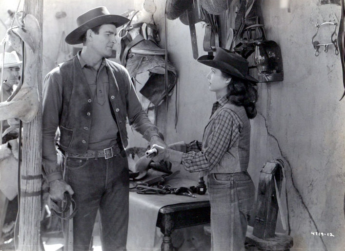 Rod Cameron and Cathy Downs in Panhandle (1948)