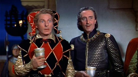 The Court Jester (1955) Basil Rathbone Danny Kaye