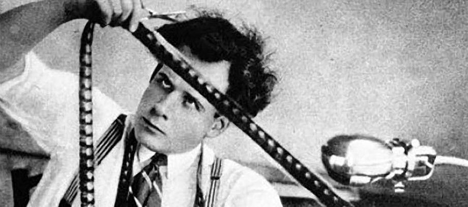Sergi Eisenstein at work