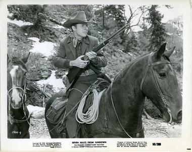 Audie Murphy in Seven Ways Fron Sundown (1960)