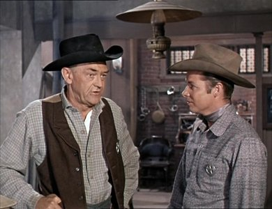 Seven Ways Fron Sundown (1960) John McIntire & Audie Murphy