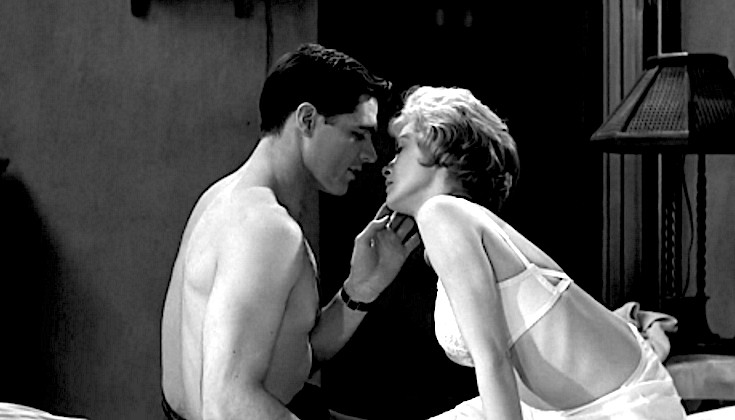 Psycho John Gavin and Janet Leigh