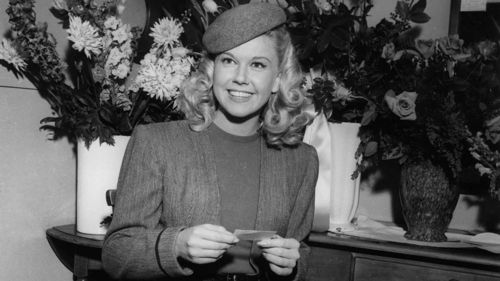 Doris Day pictured in the late 1940s