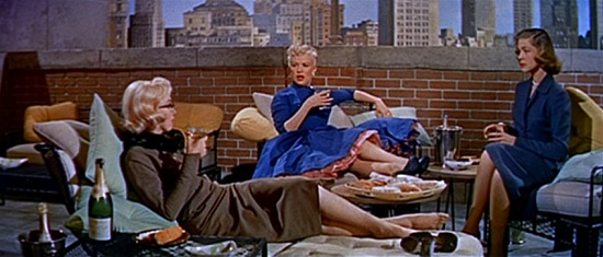 Marilyn Monroe, Betty Grable & Lauren Bacall in How to Marry a Millionaire (1953)