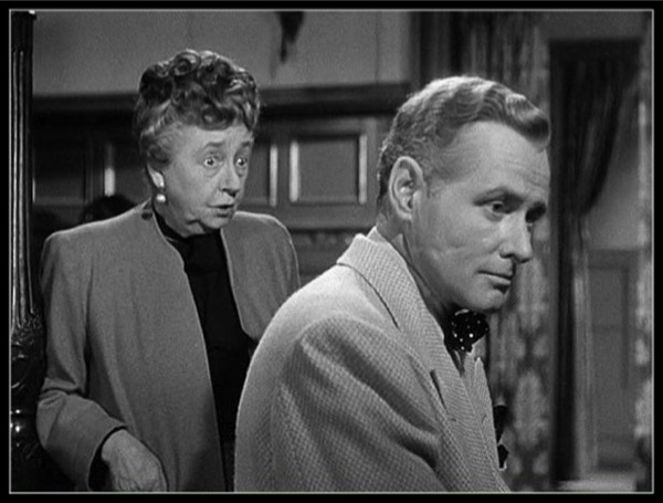Dame May Whitty & George Macready in My Name is Julia Ross (1945)
